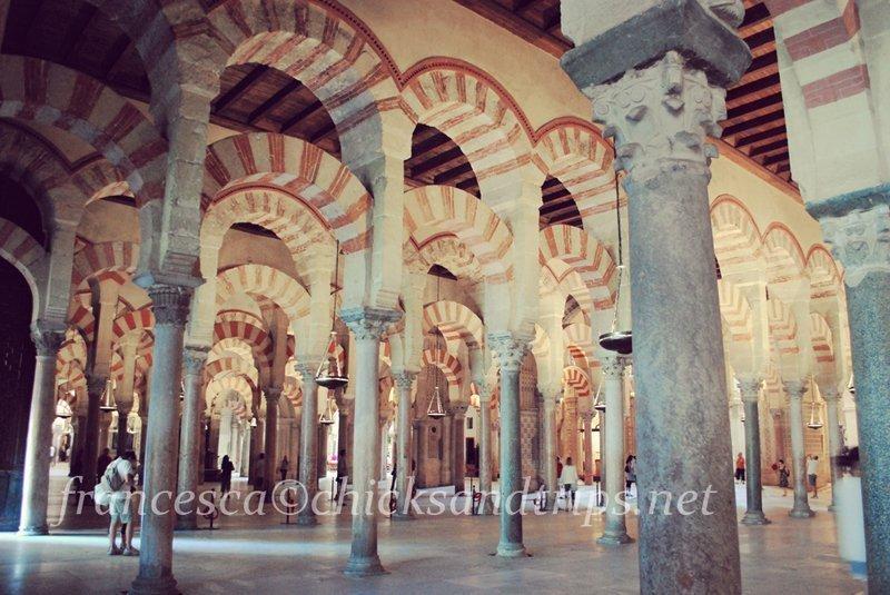 Mezquita di cordoba Andalusia