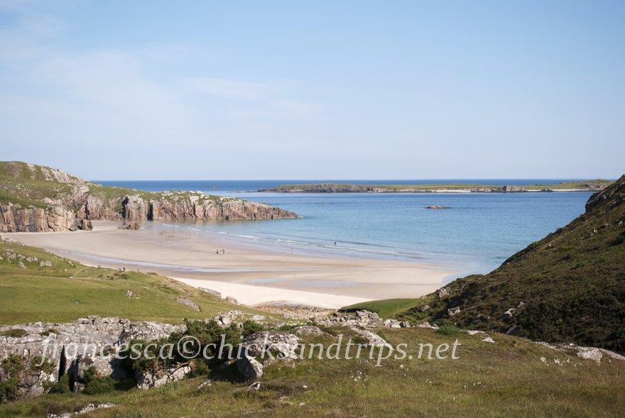 Sango Bay Scozia Highlands mare spiaggia