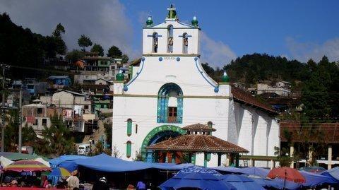 Chiapas Messico San Juan Chamula Natale