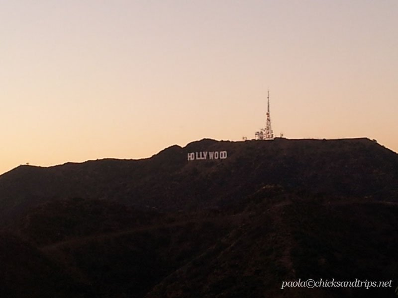 Hollywood sign. Classic.