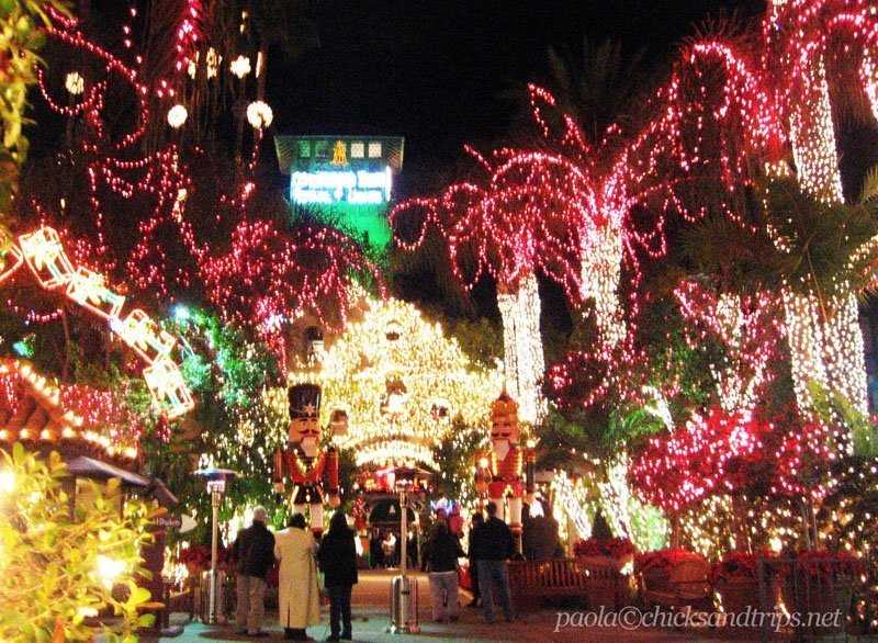 Christmas Lights in Riverside, California