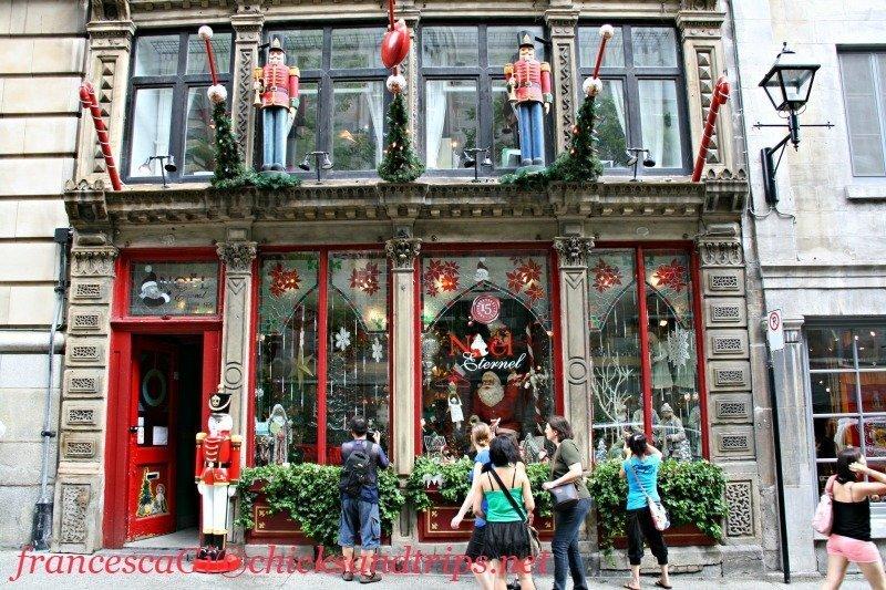 Noel Natale negozio Canada Montreal