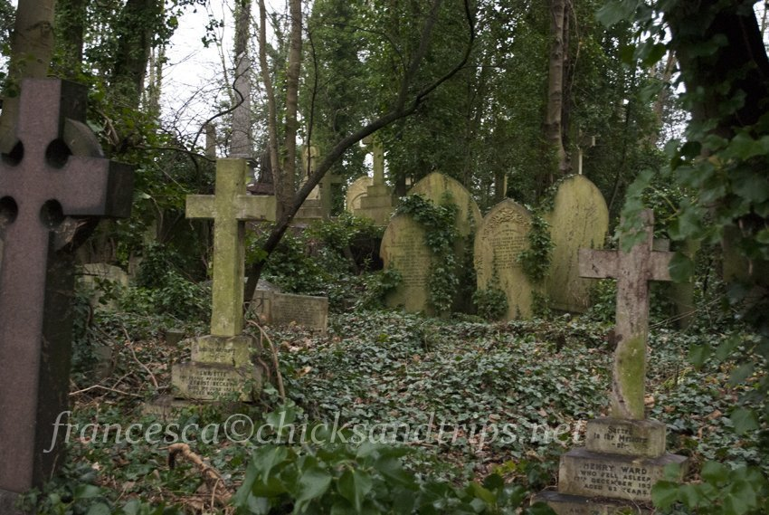 Londra e il cimitero di Highgate