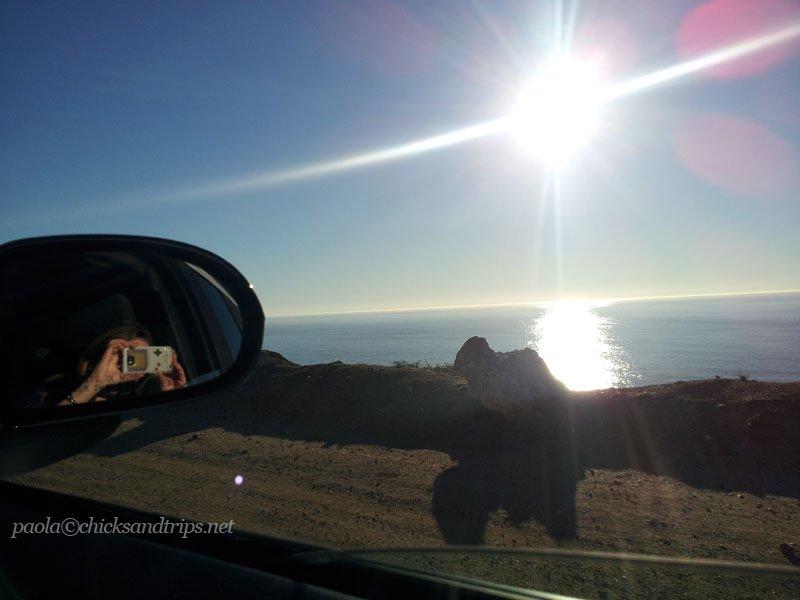 Viaggiare attraverso la Highway 1, California