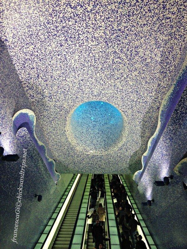 Napoli, fermata Toledo: la stazione della metro più bella d'Europa