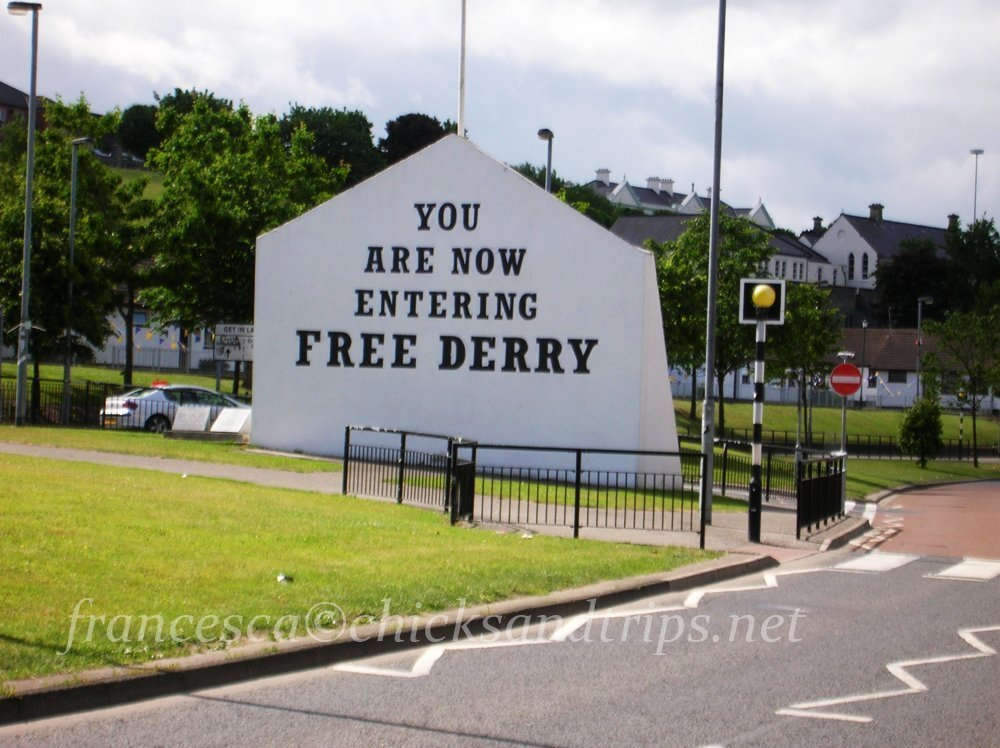 Derry e la Bloody Sunday del Bogside