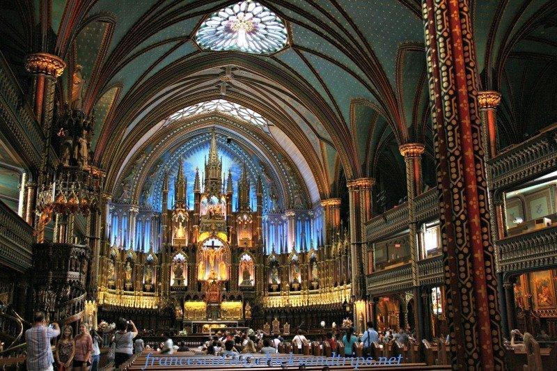 Cosa vedere a Montréal, Canada: la Chiesa di Notre-Dame
