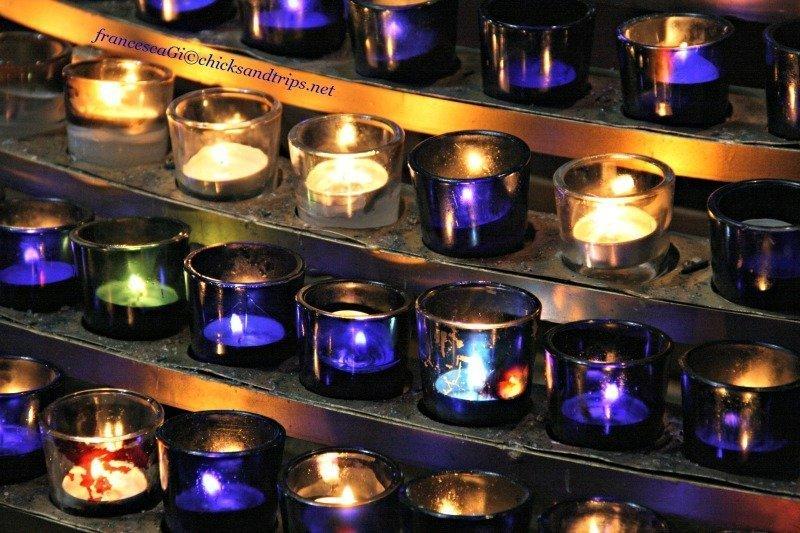Candele in Notre-Dame a Montréal