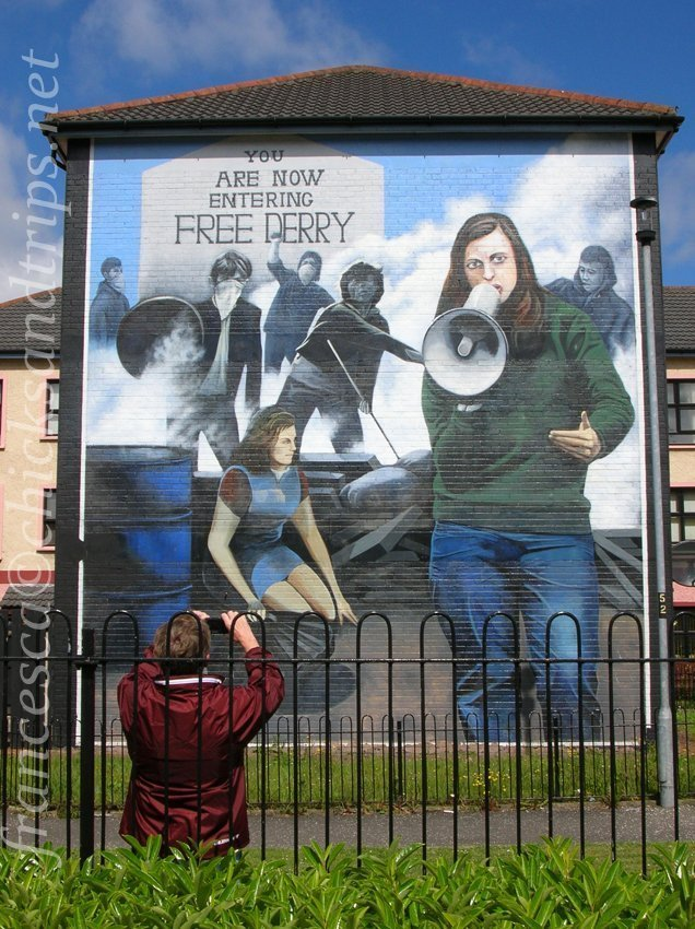 Derry Irlanda del Nord Ulster Bogside Bloody Sunday