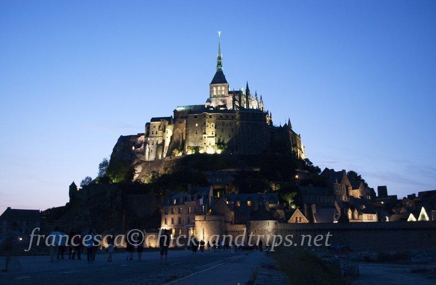 Mont St. Michel Normandia Francia