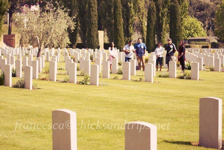 Florence War Cemetery Firenze Cimitero Guerra