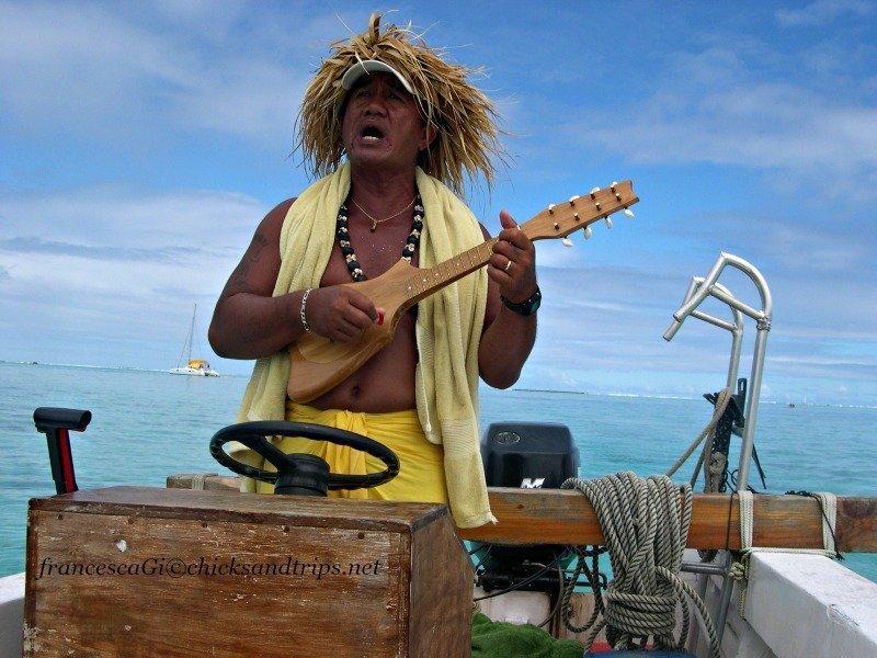 In gita a Bora Bora