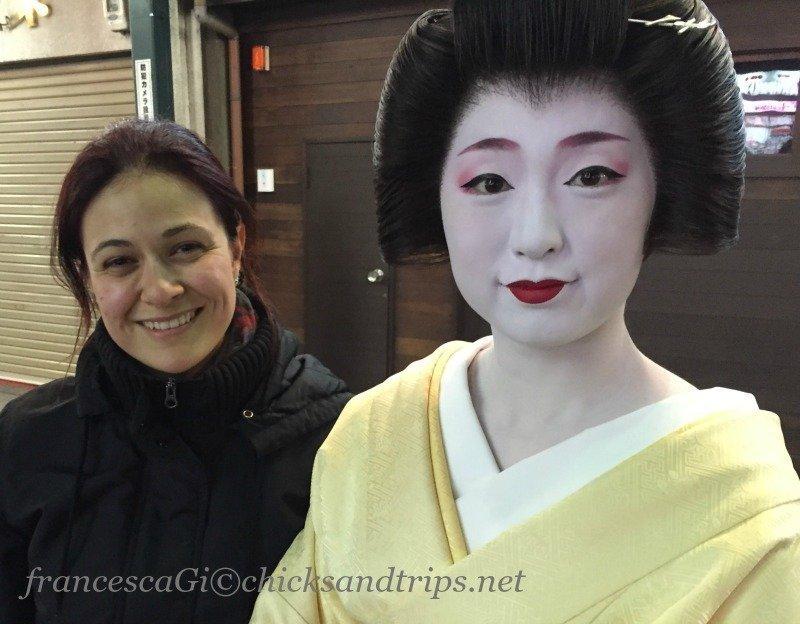 Io e la geisha!