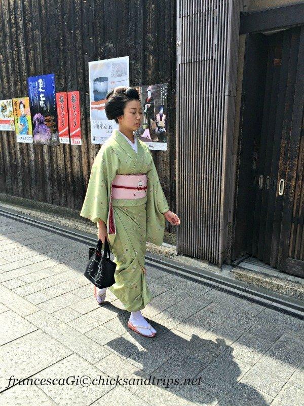 Maiko a Gion