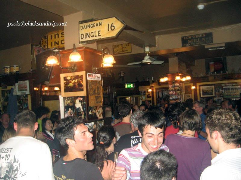 Un tranquillo martedì sera a Temple Bar
