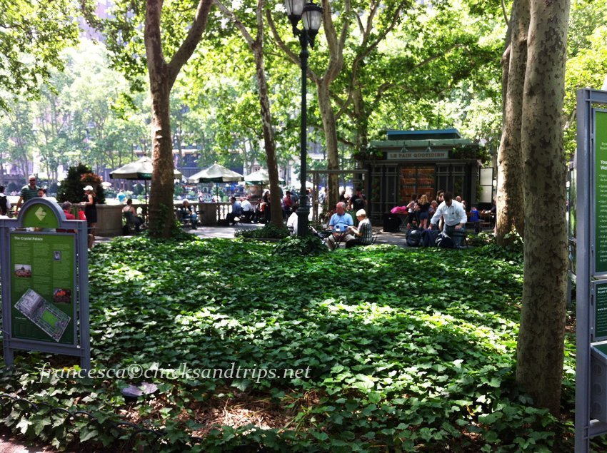 Bryant Park a New York City