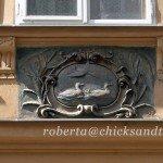 Stemma di casa a Praga