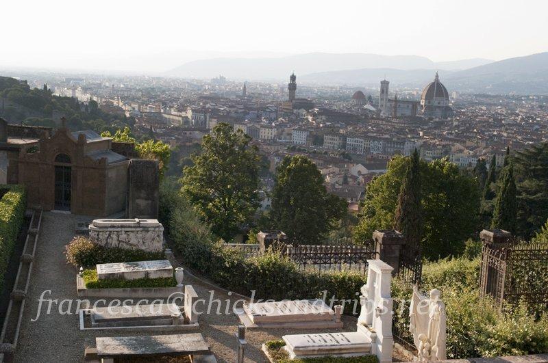 Firenze Florence Cimitero Porte Sante San Miniato a Monte