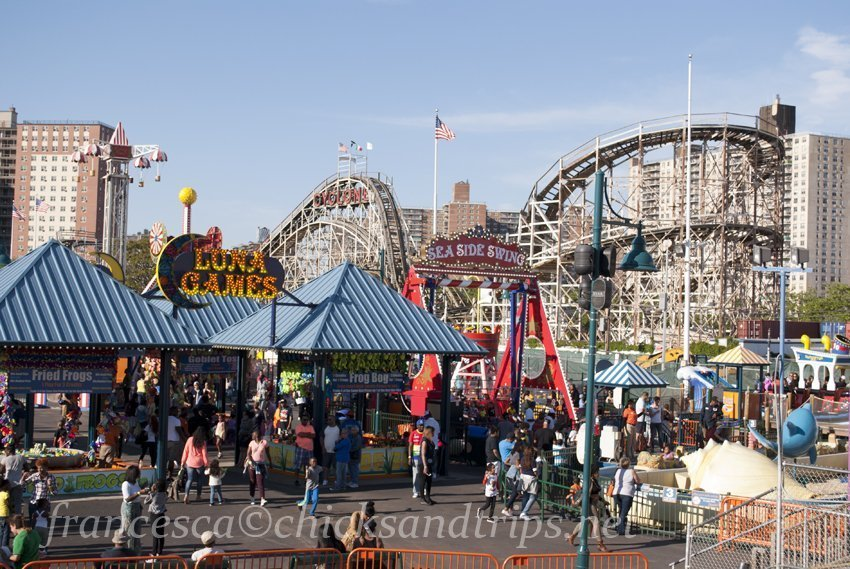 Coney Island luna park new york