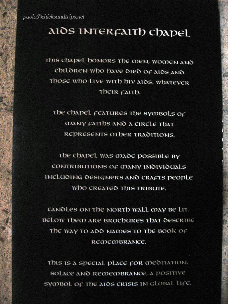 AIDS Interfaith Memorial Chapel