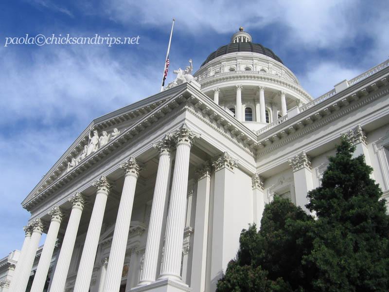 La Casa Bianca della California. Qui ci abitava Schwarzenegger.