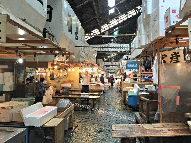 Tsukiji Market di Tokyo