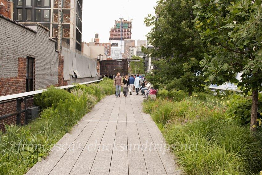 High Line Park: un parco insolito a New York City