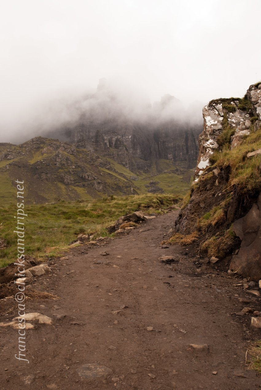 old man of storr scozia highlands isola skye