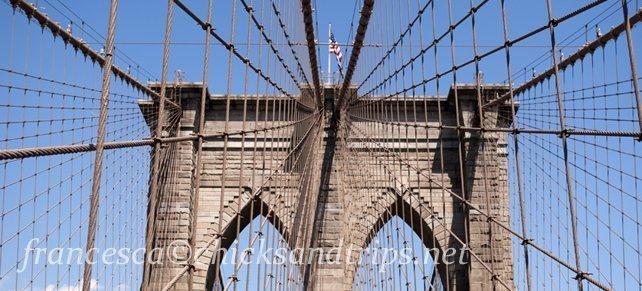 A piedi sul Ponte di Brooklyn