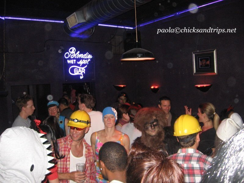 La festa di Halloween al Blondie's Bar