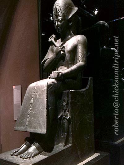 Statua di Ramesse II al Museo Egizio di Torino
