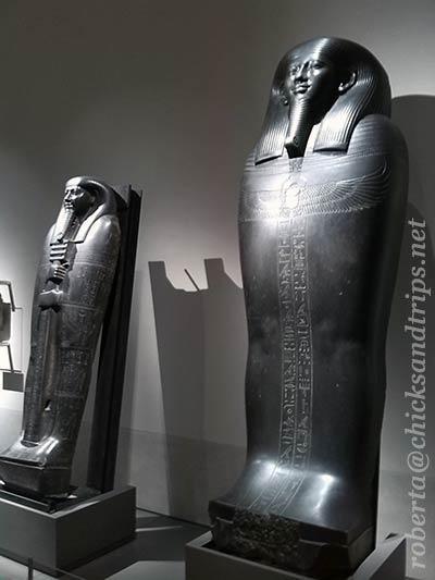 Sarcofagi al Museo Egizio di Torino