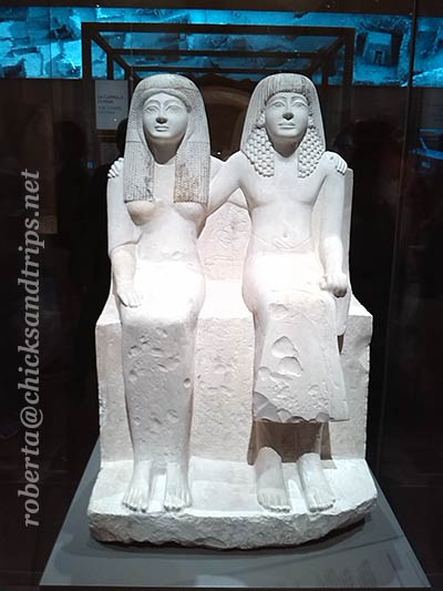 Statue al Museo Egizio di Torino