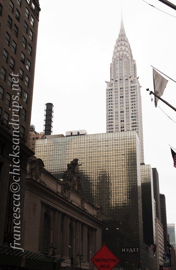 Chrysler Buildng e Grand Central Station