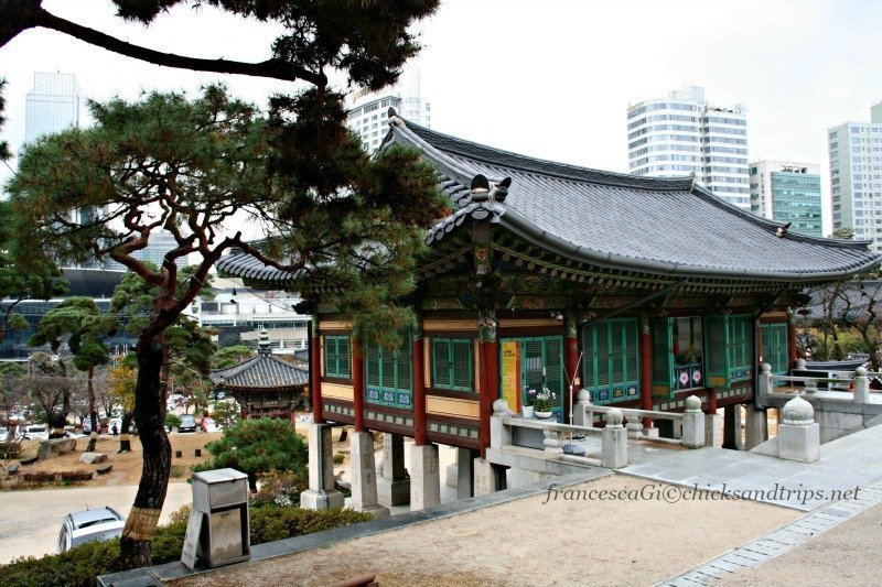 Il Bongeunsa Temple di Seul