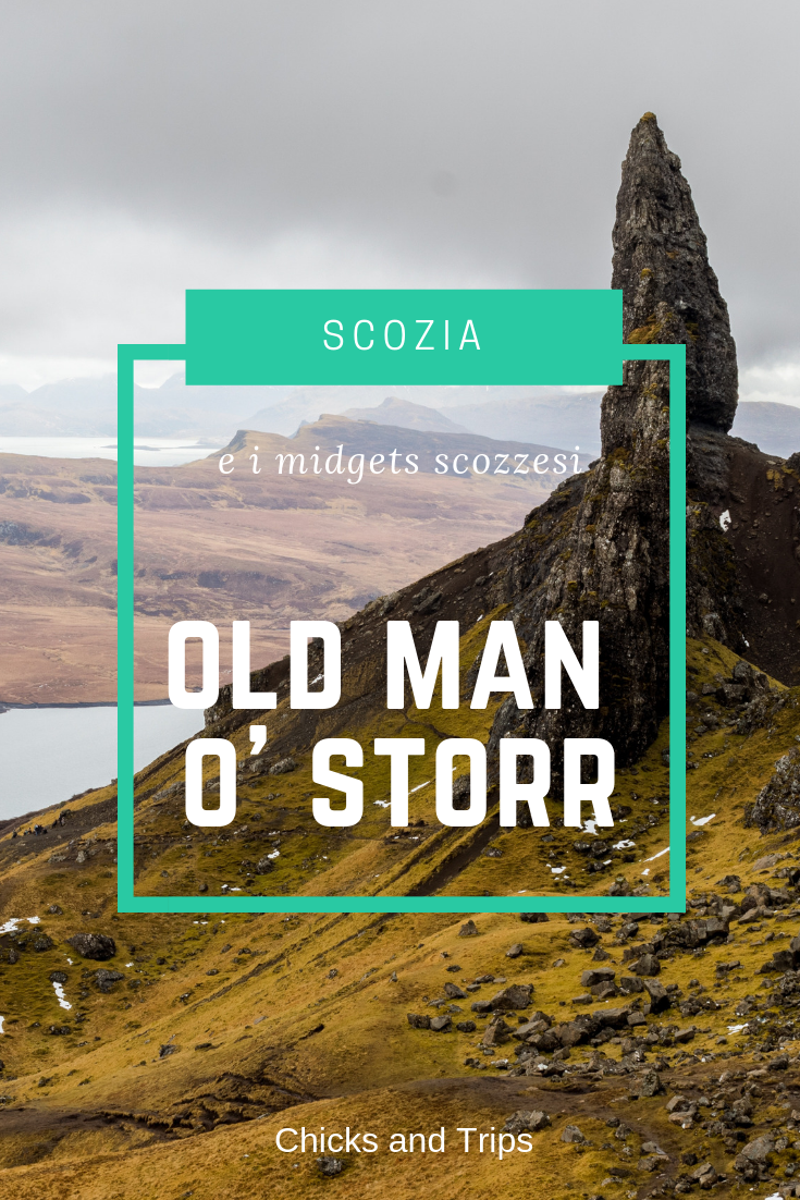 scozia old man of storr skye