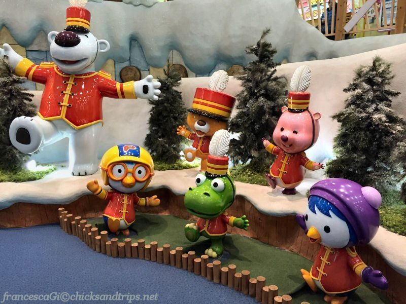 Pororo Park al Lotte World Adventure di Seul