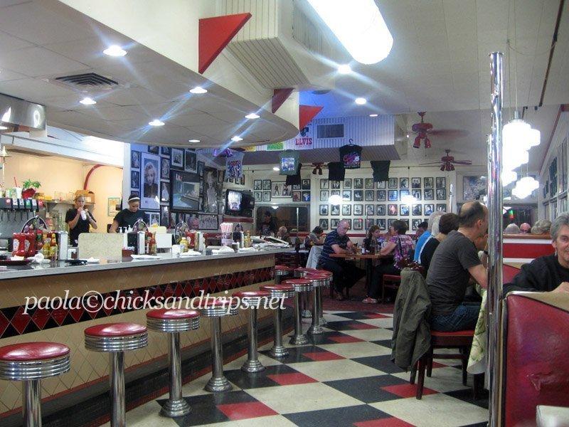 Flagstaff offre anche simpatiche diner molto americane.