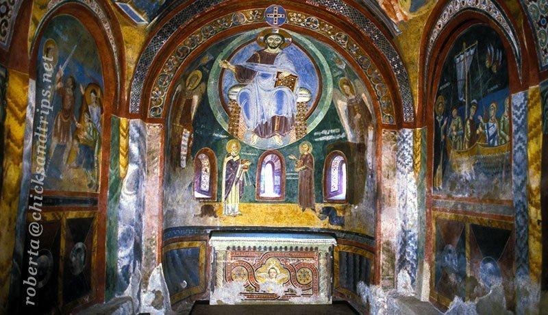 Affreschi cappella di Sant'Eldrado