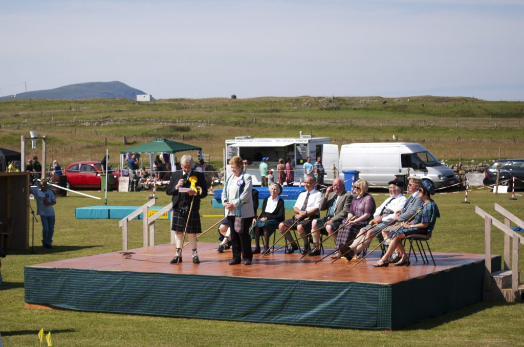 Commissione dei Durness Highland Games