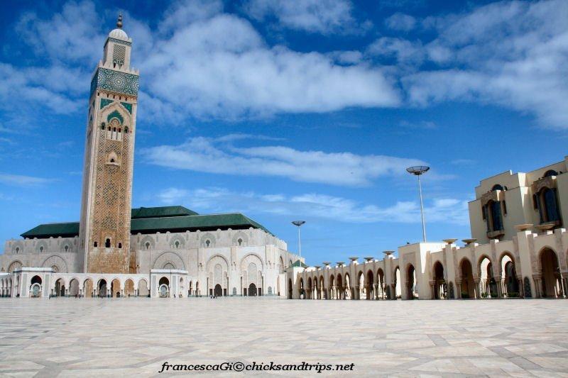 La Moschea di Hassan II a Casablanca