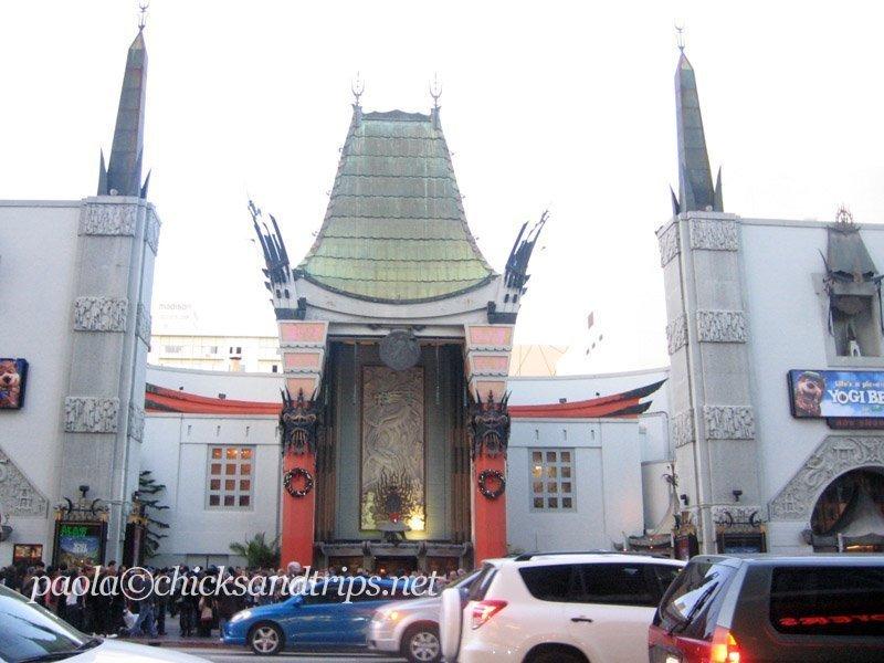 La facciata del Chinese Theater