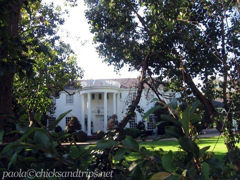 La facciata della villa di Willy Il Principe di Bel-Air