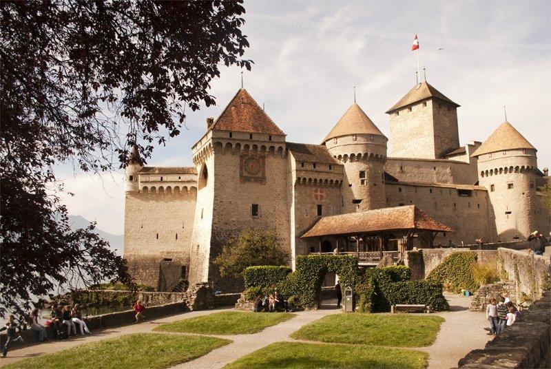 Il Castello di Chillon, Montreux