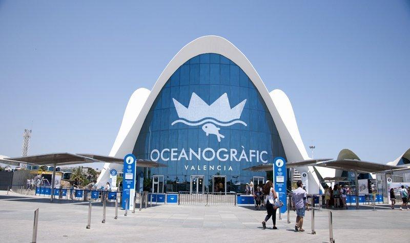 Valencia Jardì del Turìa Oceanografico