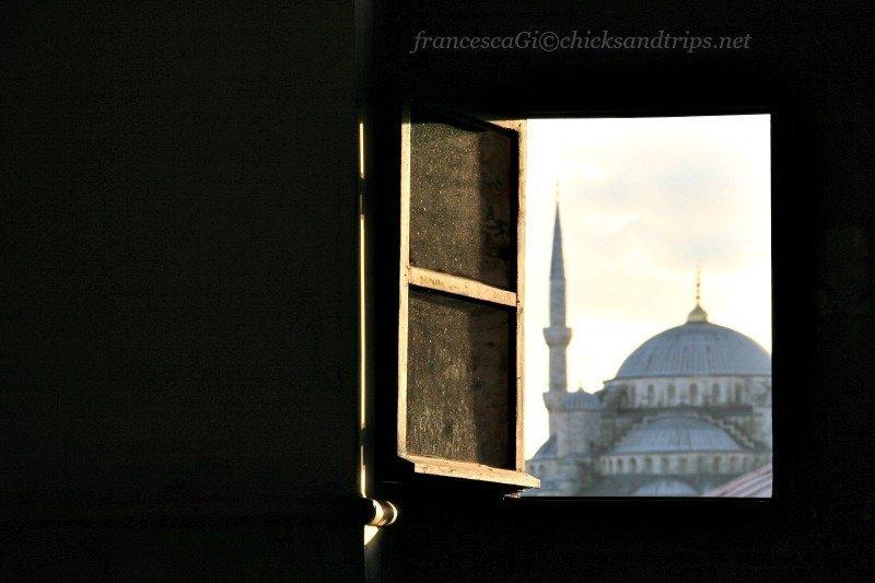 La Moschea Blu vista da Aya Sofya