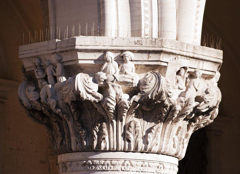 misteri di venezia capitelli