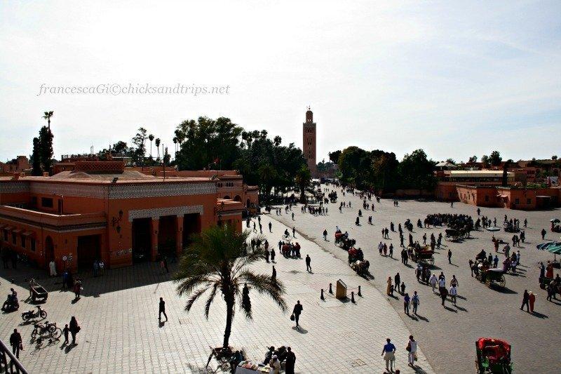 Piazza Djemaa el-Fna