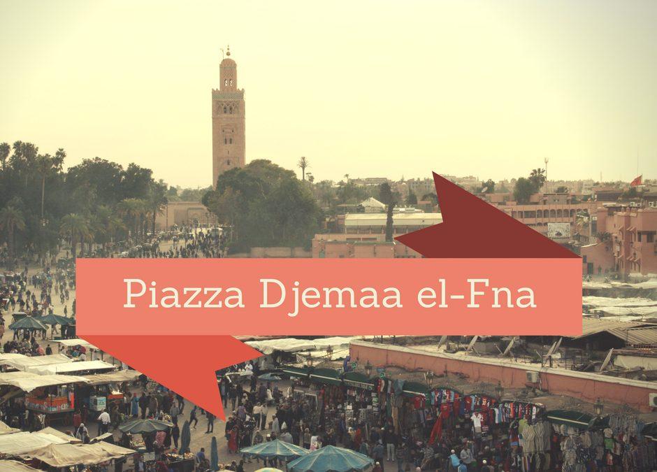 Piazza Djemaa el-Fna a Marrakech