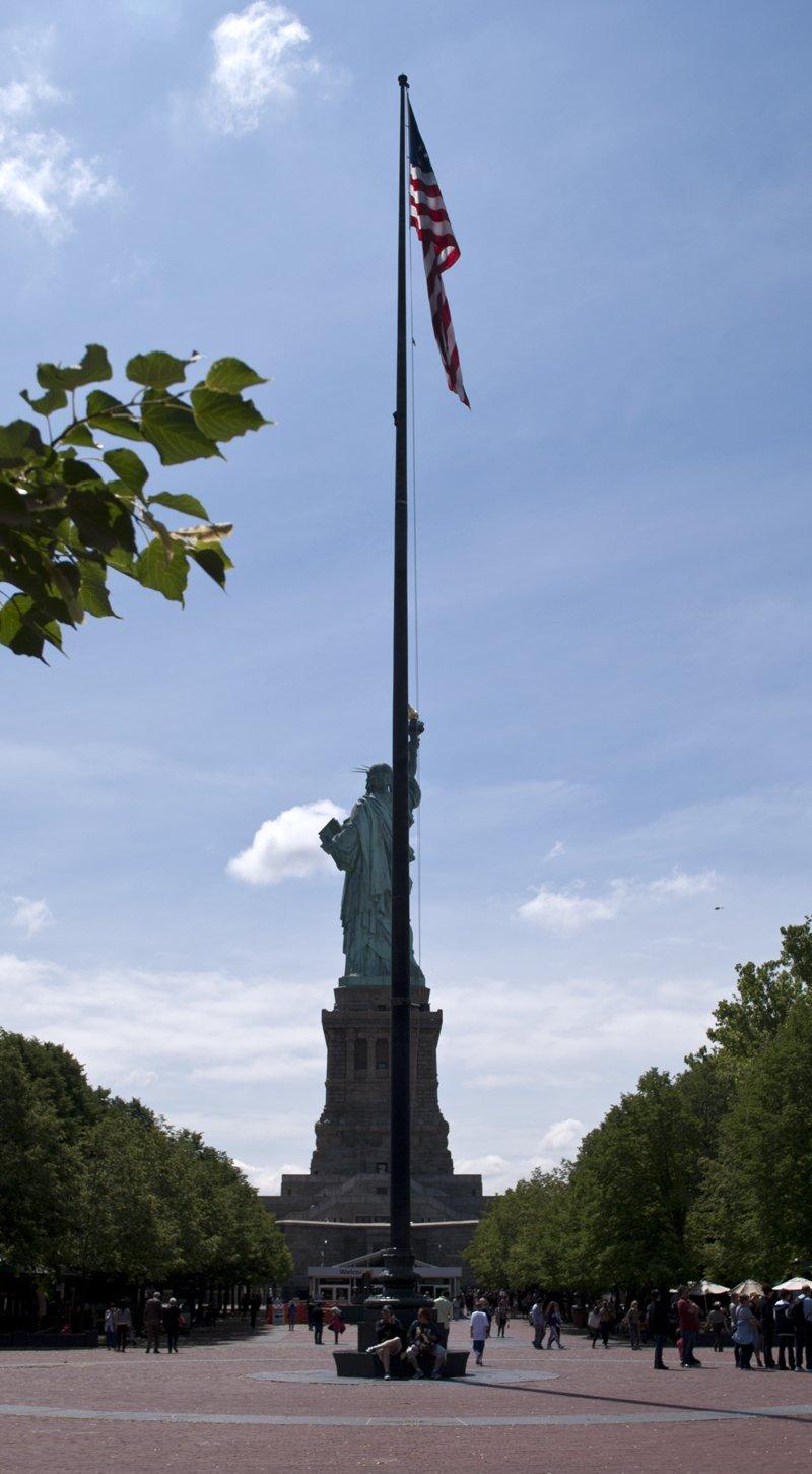 statua della libertà liberty island